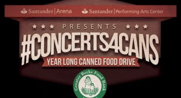 #Concerts4Cans year-long food drive hosted held at Santander Arena and Performing Arts Center