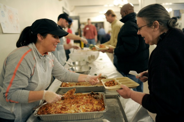 Catholic Church Soup Kitchen